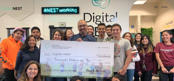 Digital NEST announces matching grant, double your impact