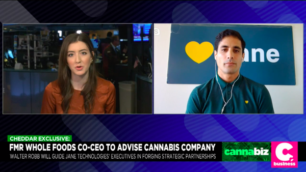 Former Whole Foods Co-CEO Takes Advisory Role at Santa Cruz Cannabis Company Jane Technologies