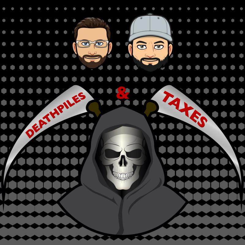 Deathpiles & Taxes logo