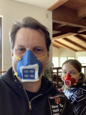 Cabrillo College Makerspace Begins Production of 3-D Printed PPE Masks and Face Shields for Santa Cruz County Medical Providers