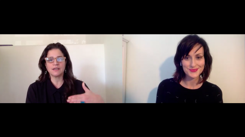 Suzanne Wouk of SellHound interviewed by Sarah Vickers-Webb of Santa Cruz Tech Beat