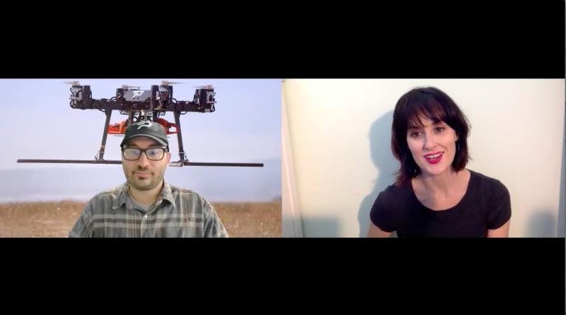 Sarah Vickers-Webb of Santa Cruz Tech Beat interviews Josh Resnick of parallel flight technologies