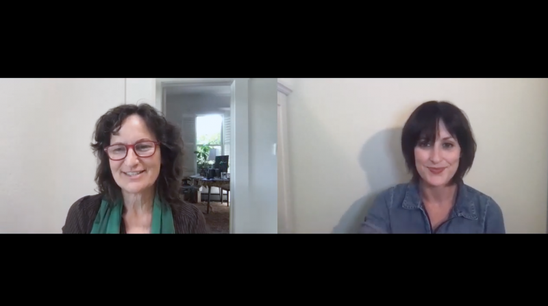 Sarah Vickers-Webb interviews Peggy Dolgenos of Cruzio over Zoom