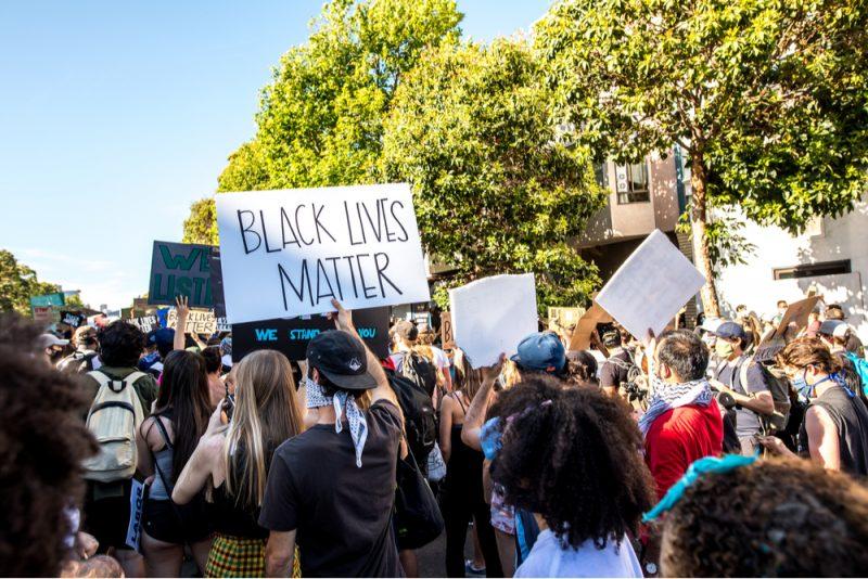 Black Lives Matter protest in San Francisco