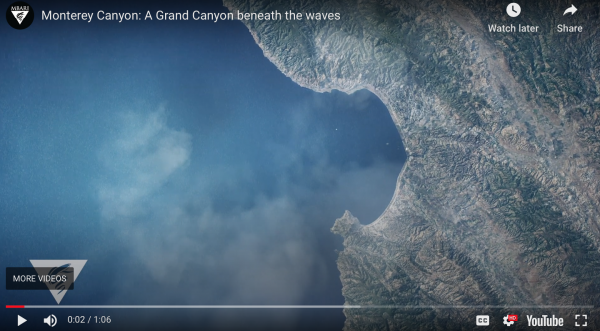 MBARI: New animation drains Monterey Bay to uncover the beauty of its geology