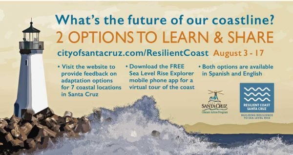 Santa Cruz and Virtual Planet Technologies launch phase two of the Sea Level Rise Explorer Santa Cruz interactive experiences