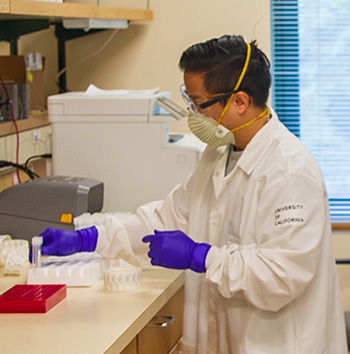 Local award recognizes UCSC's efforts to provide local testing for coronavirus infections