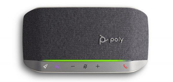 The Microsoft Teams certifies Poly Sync 20 smart speaker phone