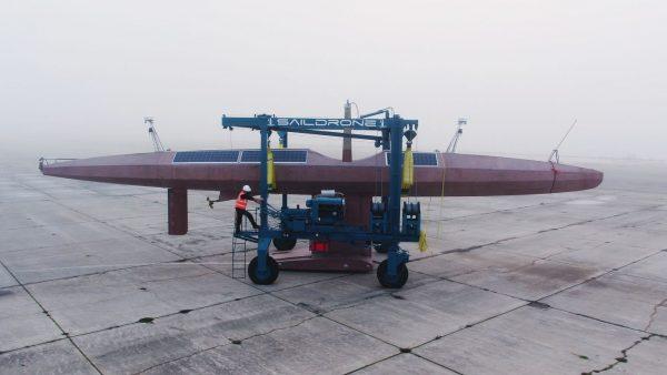 The Autonomous Saildrone Surveyor Preps for Its Sea Voyage