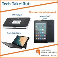 Tech Take-Out offers lendable tech devices that can be checked out
