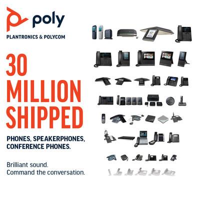 Poly Hits 30 Million IP Phones Milestone